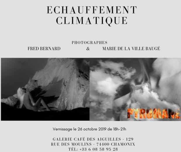 Invitation Expo Echauffement Climatique